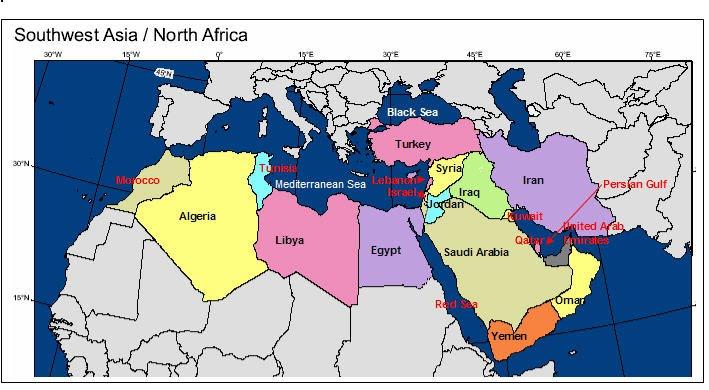 Unit 2: North Africa & Southwest Asia (N.A.S.W.A.) - Mr ...
