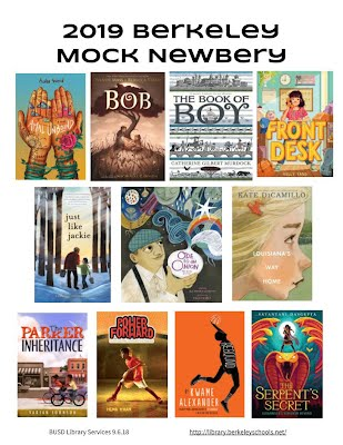 poster of Mock Newbery nominations